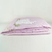 雪兔美肤凉丝被 贴身舒爽 夏天凉丝被 2米粉色