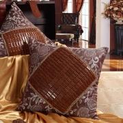 精品麻将靠垫 全天然竹制麻将靠垫沙发靠垫垫子 夏季新款 美穗
