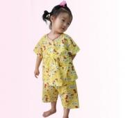 兴自然美海绵宝宝睡衣套装  俏皮公主风,两色可选