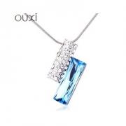 施华洛世奇元素水晶 双玄雨水晶项链 欧希正品 奥地利水晶项链10522